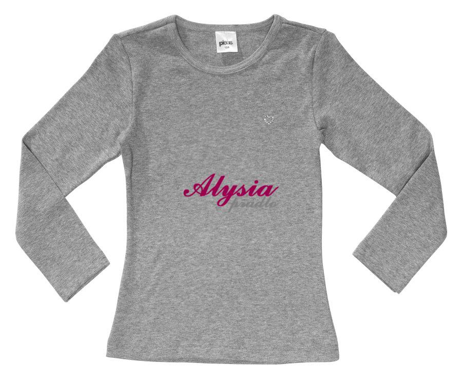fd2a7b666687 Užívateľská recenzia produktu Dievčenské tričká 147083 Veľkosť 152 Bílá dlhý  rukáv