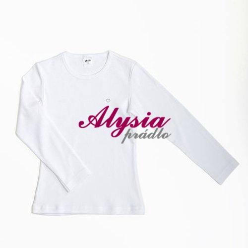 e0f97153bc09 ... Dievčenské tričká 147083 Veľkosť 152 Bílá dlhý rukáv