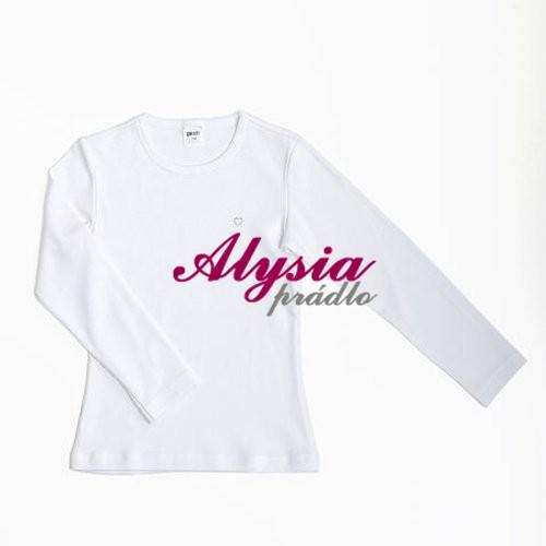 87f6d6bb7d8f Tip. Dievčenské šité tričko s dlhým rukávom. Viac informácií. U dodávateľa  do 5 dní